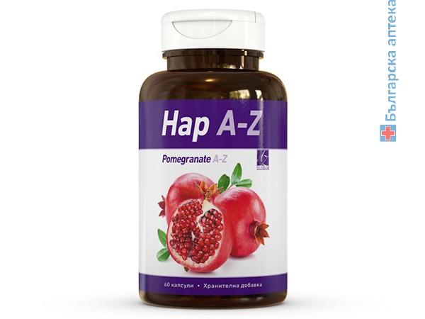 нар, a-z, pomegranate a-z, капсули, холестерол