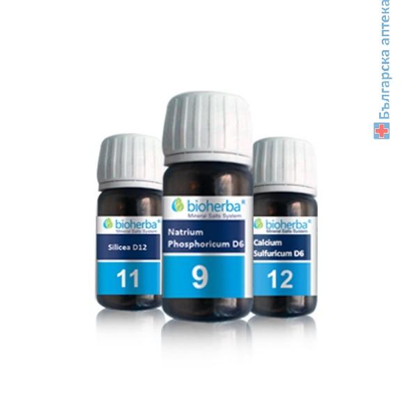 Шуслерова сол №4 (Kalium chloratum D6)