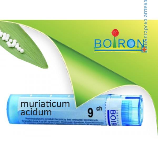 муриатикум ацидум, muriaticum acidum ch 9, боарон