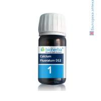 минерална сол, calcium fluoratum d12, калциум флуоратум, таблетки