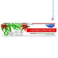 астера хомеопатична,избелваща паста, whitening, евкалипт,анасон, паста за зъби