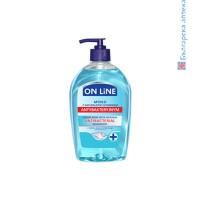 on line, антибактериален течен сапун, течен сапун, нтибактериален сапун