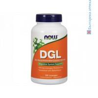 DGL,глициризинова киселина,now foods,заздравяване мембрани