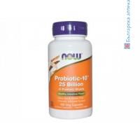 ацидофилус,acidophilus,пробиотици,пробиотик,now foods,здрава чревна флора