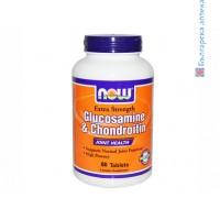 хондроитин,chondroitin,глюкозамин,glucosamine,now foods,стави и хрущяли