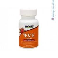 женски мултивитамини,eve ,now foods,мулти витамини и минерали