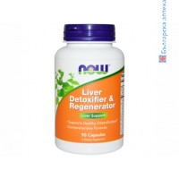 Liver Detoxifier & Regenerator,now foods,черен дроб, магарешки бодил