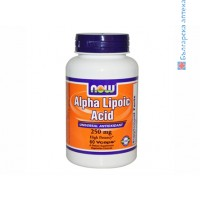 алфа липоева киселина,alpha lipoic acid,now foods,хранителна добавка