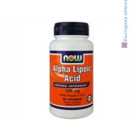 алфа липоева киселина,alpha lipoic acid,now foods