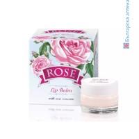 Балсам за устни, Гланц за устни, ROSE с розов конкрет, 5 гр