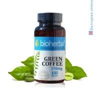 зелено кафе, биохерба, зелено кафе за отслабване, зелено кафе екстракт