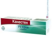 КАНЕСТЕН 1% крем - гъбични инфекции върху кожата
