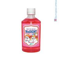 биодент, вода за уста, детска
