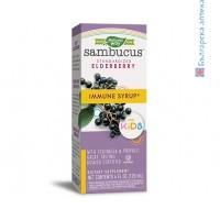 самбукус сироп,за деца,120,sambucus,sirop,for,kids,простуда