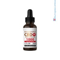 DragonflyCBD™ бял етикет тинктура от 1000 мг. (3,7% CBD)